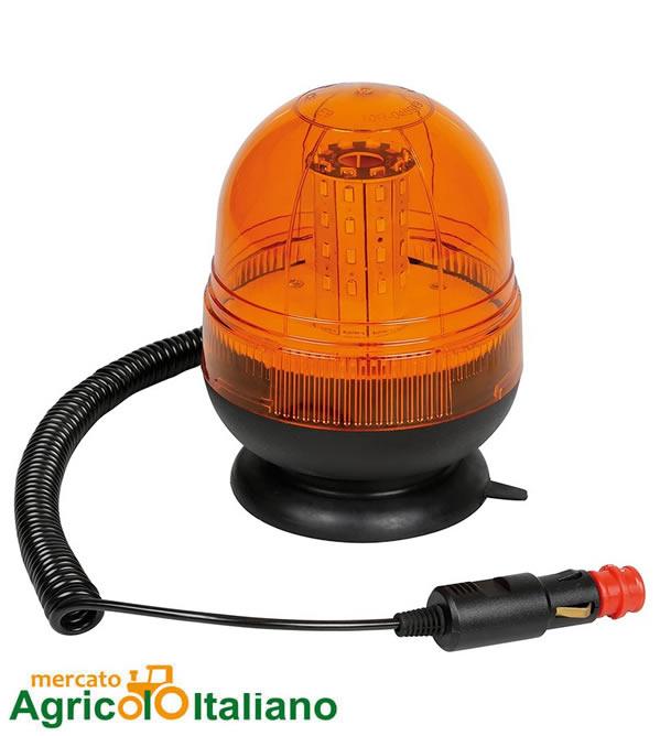 Lampada rotante led  con base Lampa