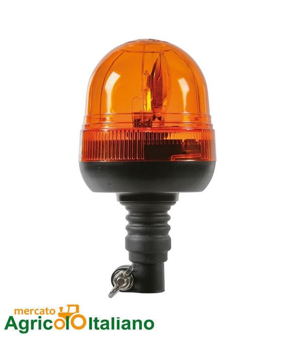 Lampada rotante Alogena con base Lampa