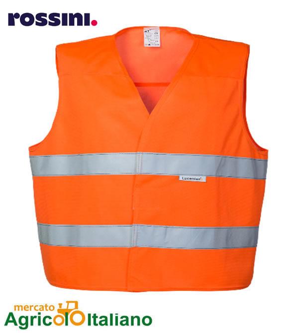 Gilet alta visibilità. Colore arancione