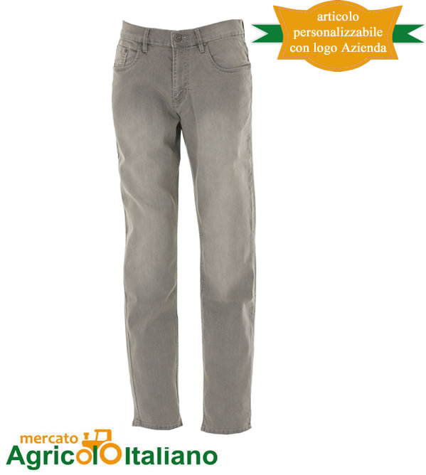 Pantalone Jeans El Paso Man Grey