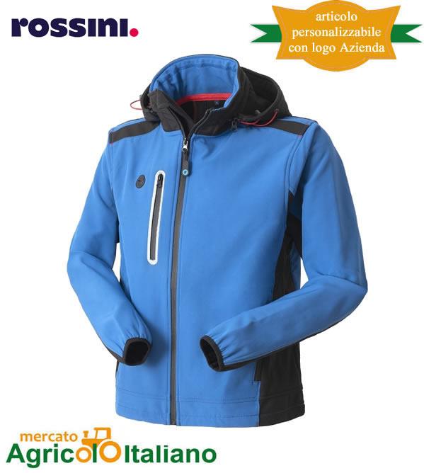 Giubbotto Softshell Smarty Colore Azzurro