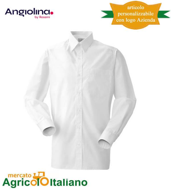 Camicia Andrea Unisex manica lunga