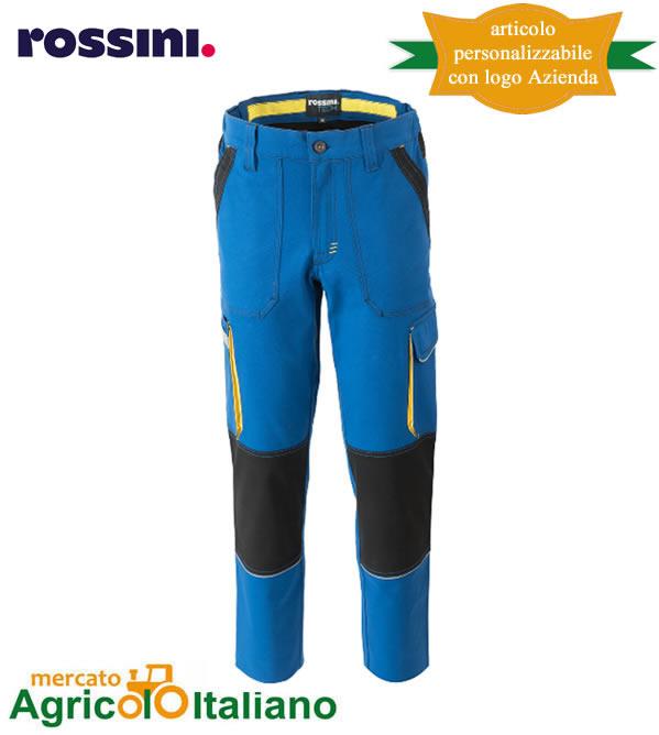 Pantalone da lavoro Mod. Ultraflex. Colore azzurro royal