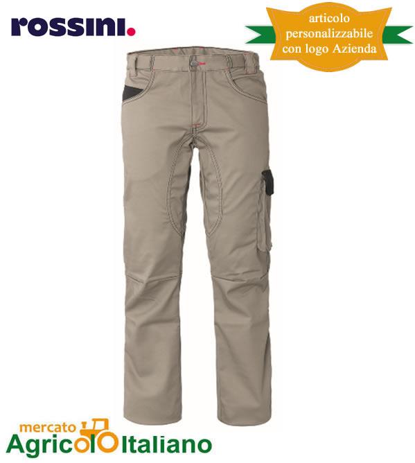 Pantalone da lavoro Mod. Stiffer Colore beige/black