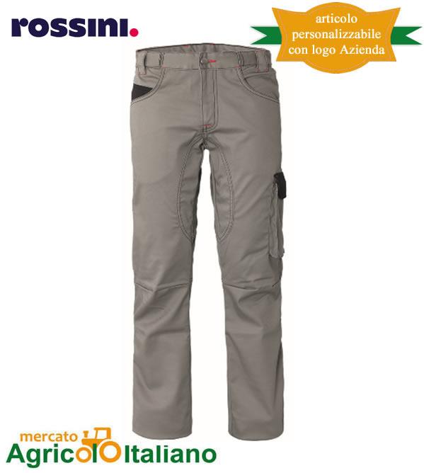 Pantalone da lavoro Mod. Stiffer Colore grigio/nero