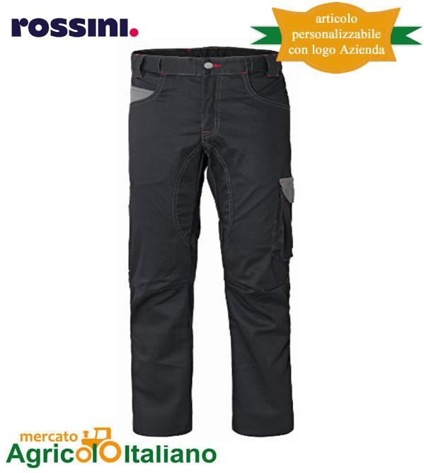 Pantalone da lavoro Mod. Stiffer Colore nero/grigio