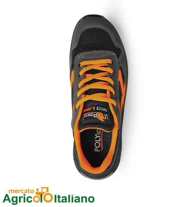 U-power scarpa antinfortunistica modello Orange - Red Lion