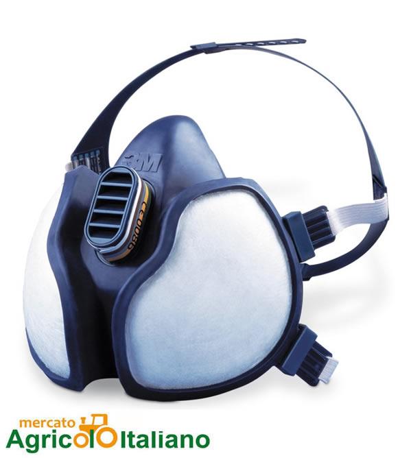 3M Respiratore 4251 per vapori organici e polveri/FFA1P2 R D