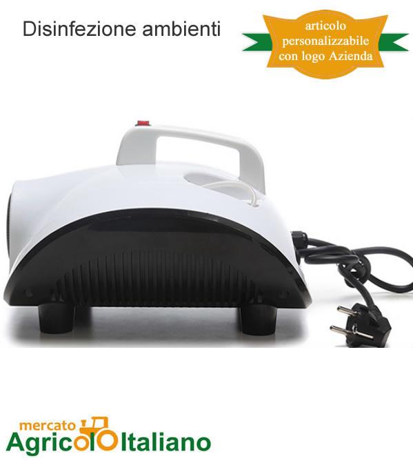 Atomizzatore ad ultrasuoni per disinfezione ambienti