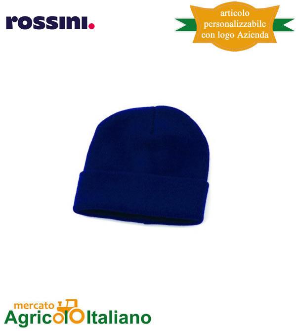 Cappello zuccotto doppio strato con risvolto