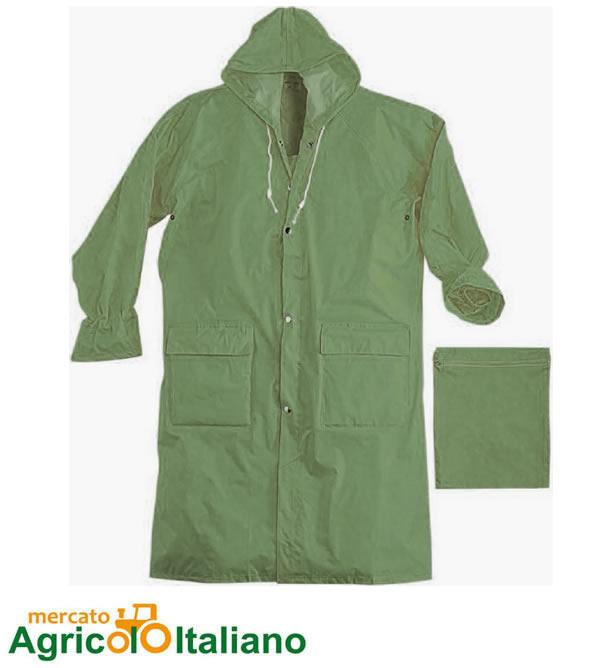 Cappotta in Poliestere - Verde