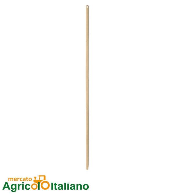 Manico in legno per scopa lineare in cocco