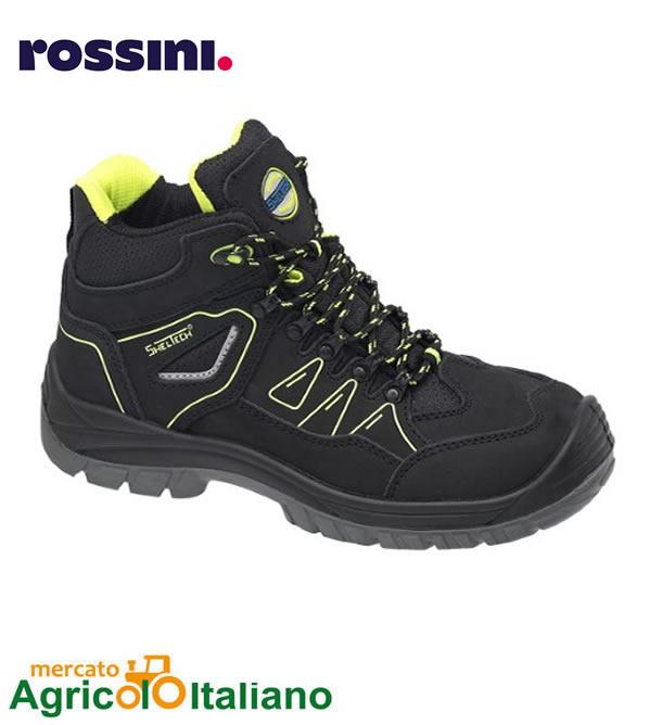 Rokford - calzatura alta antinfortunistica con tallone antischock