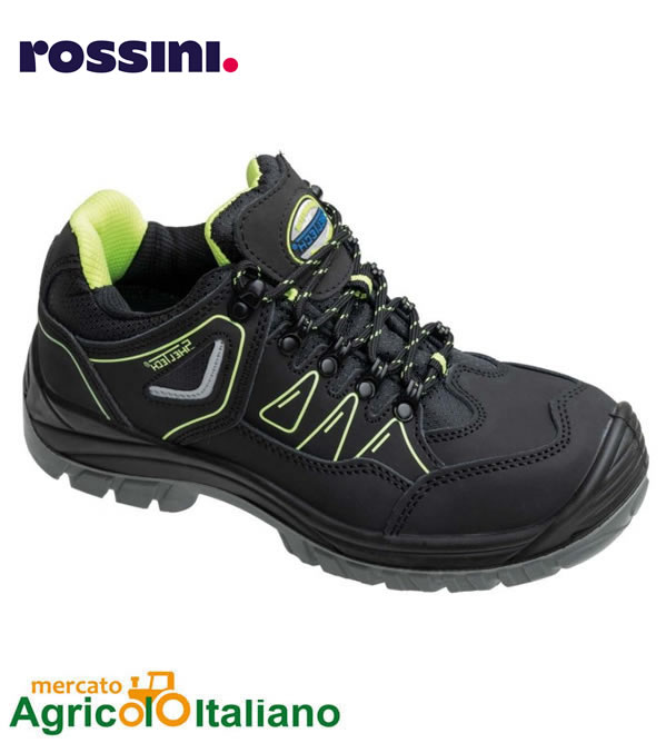 Rokford - calzatura bassa antinfortunistica con tallone antischock